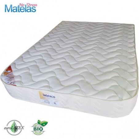 Le Matelas Bio 100 % latex naturel demi corbeille