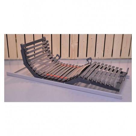 Sommier Plat Electrique 80x190 pour Lit coffre de 160x190