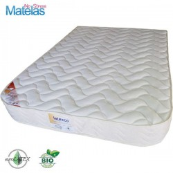 Matelas Demi Corbeille 160x200 Bio 100 % Latex Naturel