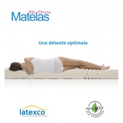 Matelas latex 21 cm