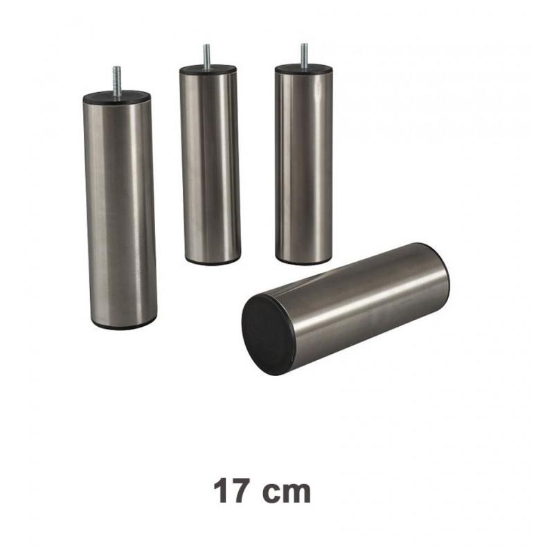 Pieds Inox 17 cm