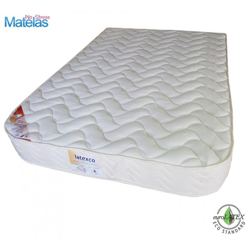 Matelas latex 3 zones de confort Demi Corbeille Matelas Mousse haut de gamme Demi corbeille 140x200