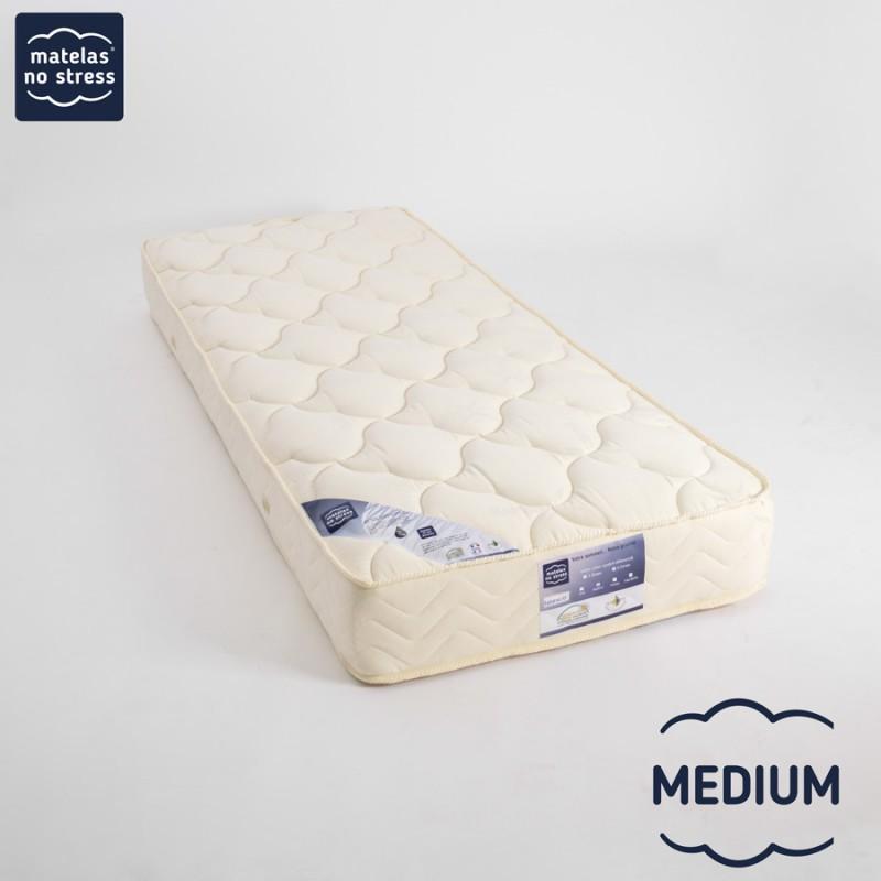 Matelas 90x210 Latex Grand Confort  MEDIUM