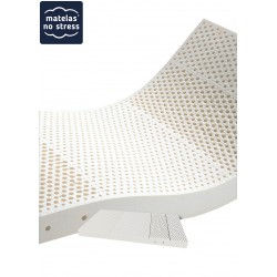 Matelas Latex Grand Confort  MEDIUM 21 cm en 110x200