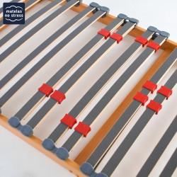 renfort lombaires du Sommier 80x180 plat pour cadre de lit
