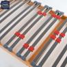 Sommier 90x180 cadre plat encastrable