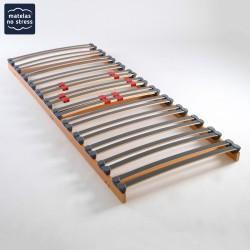 Sommier plat pour cadre de lit 2 x70x180