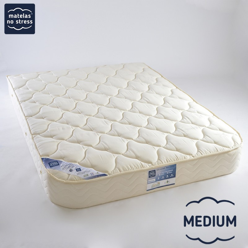 Matelas Latex 5 Zones MEDIUM demi corbeille