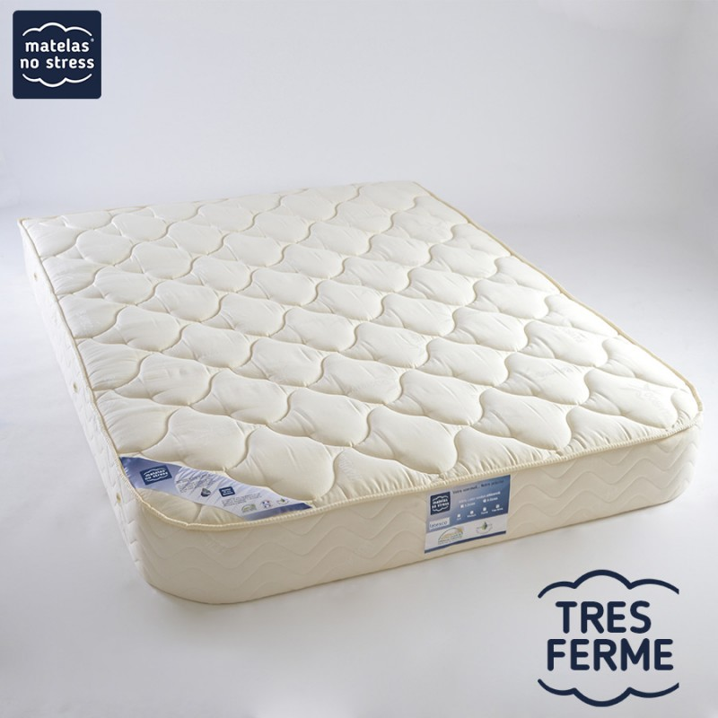 Matelas demi corbeille 160x200 grand confort latex tr s ferme - Matelas latex 160 200 ...