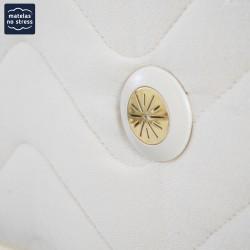 Finition du matelas latex 160x200 5 zones confort ferme
