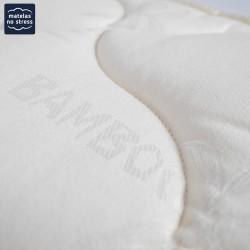 Le coutil du matelas latex très ferme 160x200 5 zones confort