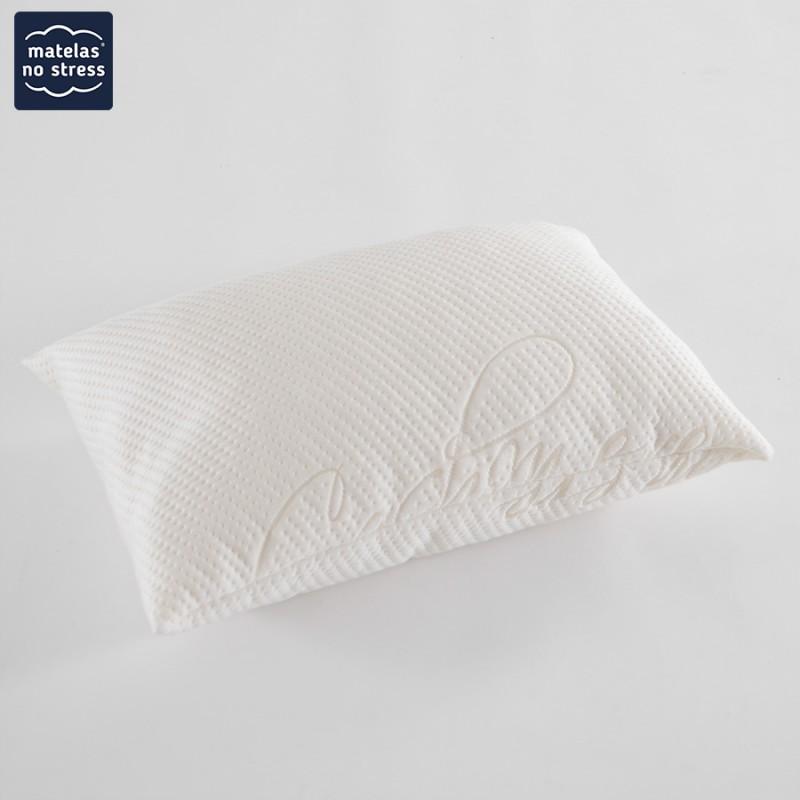 oreiller luxe haut de gamme cachemire 60x40 matelas no stress. Black Bedroom Furniture Sets. Home Design Ideas