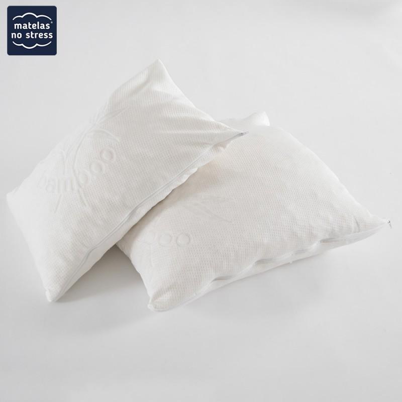 oreiller bambou toutes tailles matelas no stress. Black Bedroom Furniture Sets. Home Design Ideas