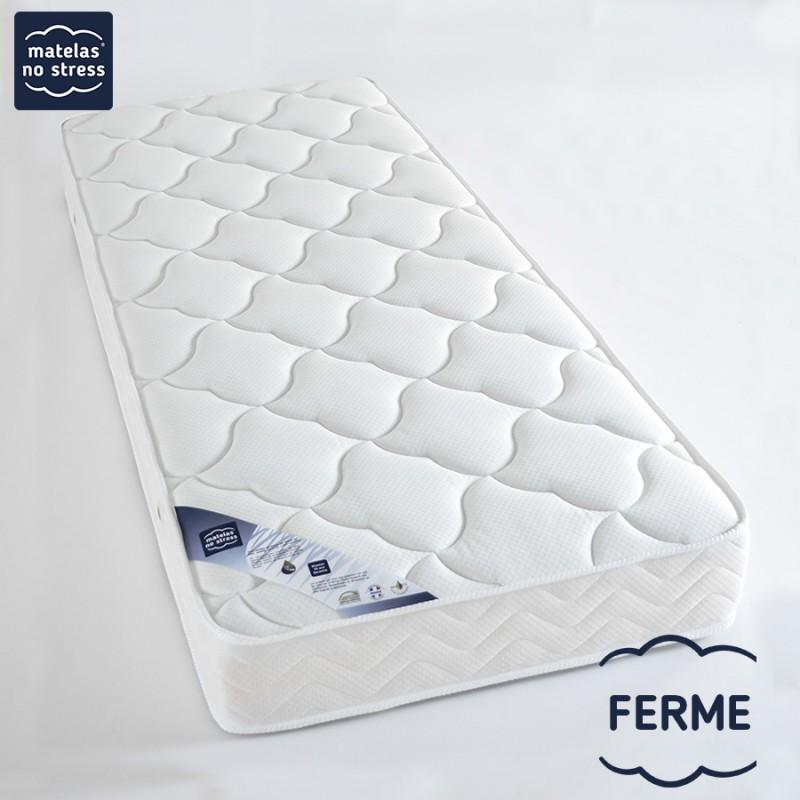 Matelas 160x190 Latex PHYSIO + de confort FERME pour une bonne relaxation musculaire