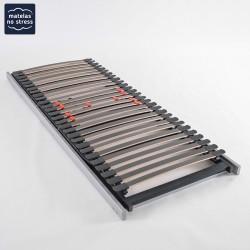 Sommier 90x200 Extra Plat Electrique pour Lit coffre