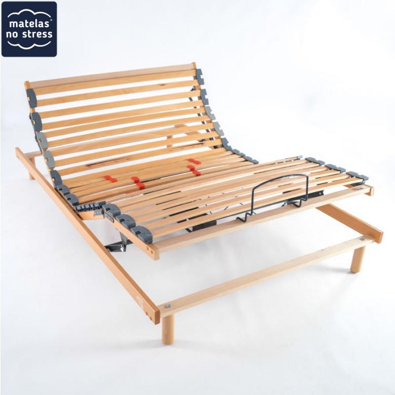 sommier 120x200 plat encastrable electrique. Black Bedroom Furniture Sets. Home Design Ideas