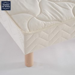 Sommier Tapissier Lattes Fixes Taille King Size 220x200