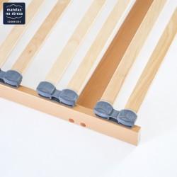 Sommier cadre plat encastrable en 110x180