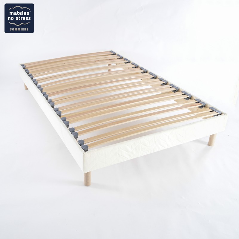 sommiers 110 110x200 haut de gamme pour literie 220x200. Black Bedroom Furniture Sets. Home Design Ideas