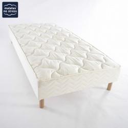 Le sommier tapissier 90x190 luxe