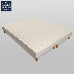 king size matelas sommier 200x220 matelas no stress. Black Bedroom Furniture Sets. Home Design Ideas