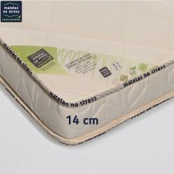 Garantie de notre matelas 140x190 ferme 100% latex naturel pas cher