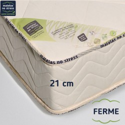 Garantie de notre matelas 140x190 ferme 100% latex naturel 7 zones de confort