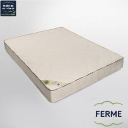 Le matelas 140x190 ferme 100% latex naturel 7 zones de confort
