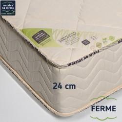 Garantie de notre matelas latex 160x200 naturel, spécial mal de dos
