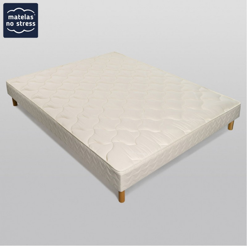 sommier tapissier 120x210 matelas no stress. Black Bedroom Furniture Sets. Home Design Ideas