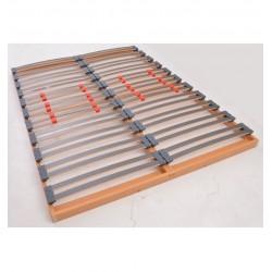 Sommier cadre plat encastrable pour lit 130x180