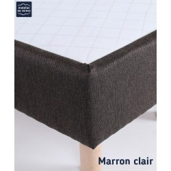 sommier tapissier 140x190 matelas no stress. Black Bedroom Furniture Sets. Home Design Ideas