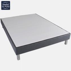 sommier 160x200 matelas no stress. Black Bedroom Furniture Sets. Home Design Ideas