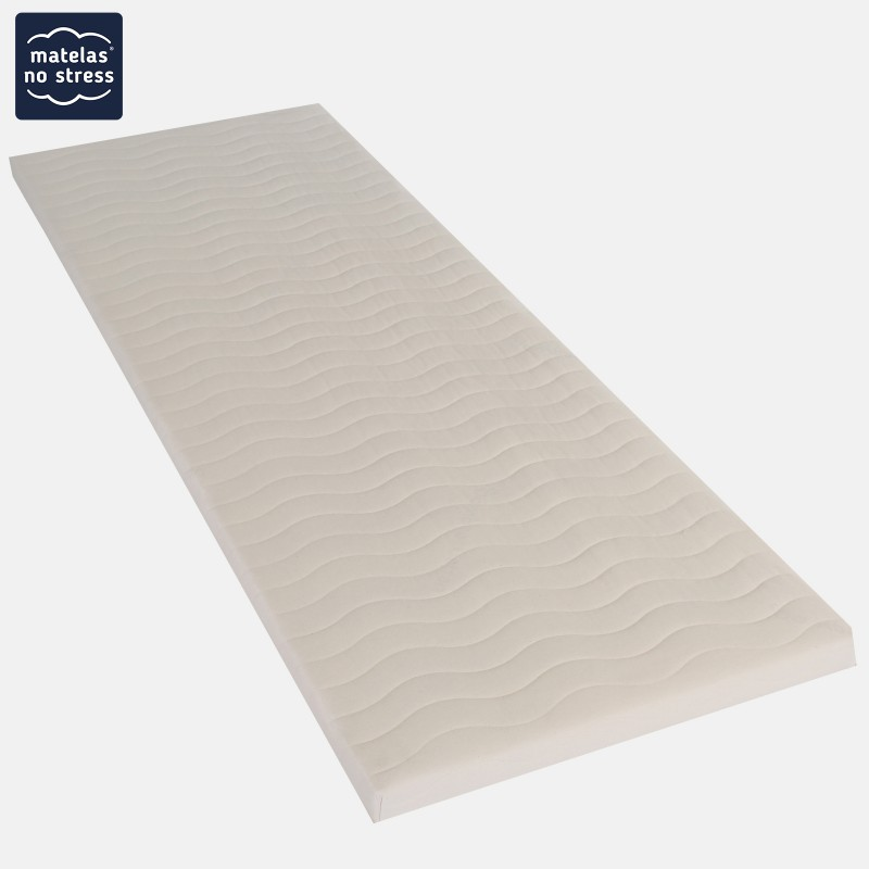 sommier tapissier 90x190 extra plat 6 cm matelas no stress. Black Bedroom Furniture Sets. Home Design Ideas