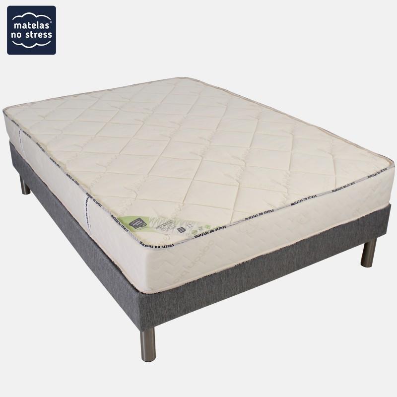 ensemble matelas sommier haut de gamme en 90x190. Black Bedroom Furniture Sets. Home Design Ideas