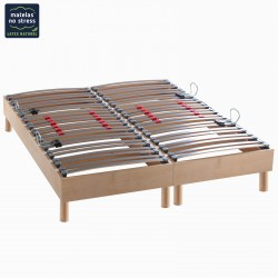 matelas 140x200 et sommier 140x200 matelas no stress. Black Bedroom Furniture Sets. Home Design Ideas