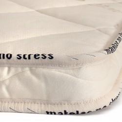 La finition du Surmatelas Latex naturel 200x200 Haut de Gamme