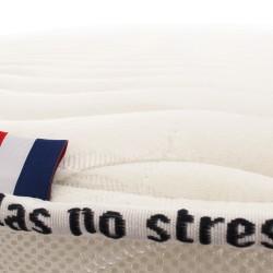 Le matelas 100 % latex naturel ferme haut de gamme No Stress