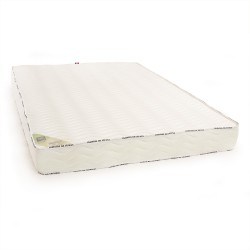 Le matelas 100 % latex naturel 140x190 ferme 5 zones de confort