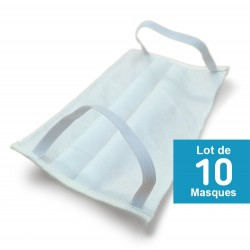 masque virus, anti postillons x10