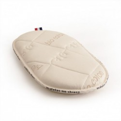 Matelas de couffin bio, 30x66 en latex naturel.