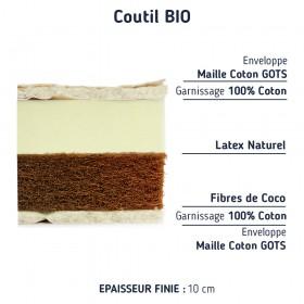 Matelas Coco et Latex pour lit cabane comp