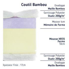 Matelas Mousse à Mémoire 100x220