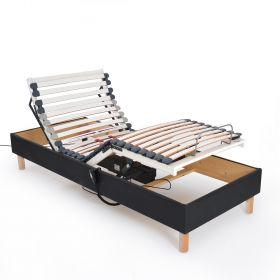 Sommier Déco Relaxation Electrique 90X200