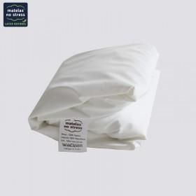 protège matelas pour lit de relaxation 2 personnes, tête relevable