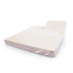Alèse de protection pour lit de relaxation 2 personnes, têtes articulées