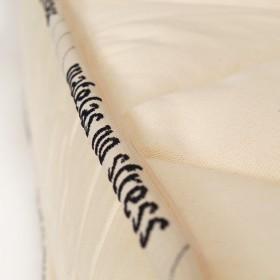 détails du matelas sur mesure latex naturel