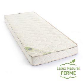 Matelas 100 % latex naturel BIO monozone 14cm