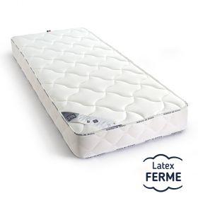 Matelas Latex au confort FERME, taille 130x200