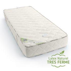 Matelas latex naturel 90x220 de confort très Ferme